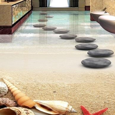 3D Boden Fliesen